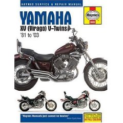Show details of YAMAHA XV (VIRAGO) V-TWINS 1981-2003 (Haynes Manuals) (Hardcover).