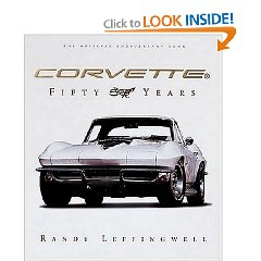 Show details of Corvette  Fifty Years (Hardcover).