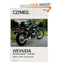 Show details of Honda 400-450Cc Twins 1978-1987: Service Repair Maintenance (Paperback).