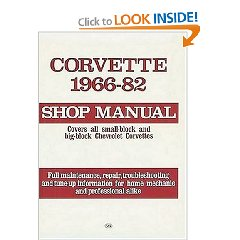 Show details of Corvette, 1966-1982: Shop Manual (Motorbooks Workshop) (Paperback).