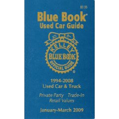 Show details of Kelly Blue Bk Used Car Guide Jan-March 2009: Consumer Edition (Kelley Blue Book Used Car Guide Consumer Edition) (Paperback).