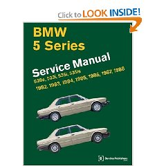 Show details of BMW 5-Series: Service Manual, 1982-1988, 528e, 533i, 535i, 535is [ILLUSTRATED]  (Paperback).