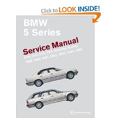 Show details of BMW 5 Series (E34) Service Manual: 1989-1995 (Paperback).