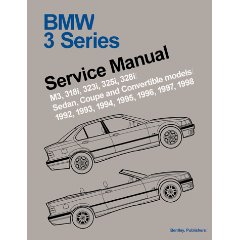 Show details of BMW 3 Series (E36) Service Manual:  1992-1998 (Paperback).