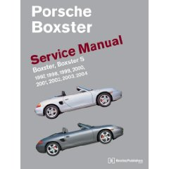 Show details of Porsche Boxster Service Manual: 1997-2004 Boxster, Boxster S (Robert Bentley) (Paperback).