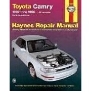 Show details of Haynes Toyota Camry Automotive Repair Manual: All Toyota Camry and Avalon Models 1992 thru 1996 (Haynes Repair Manuals) (Paperback).