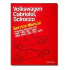 Show details of Volkswagen Cabriolet, Scirocco Service Manual 1985, 1986, 1987, 1988, 1989, 1990, 1991, 1992, 1993 Including Scirocco 16V (Paperback).