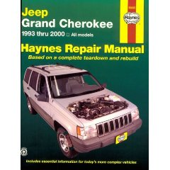 Show details of Haynes Repair Manual (Jeep Grand Cherokee 1993-2000) (Paperback).