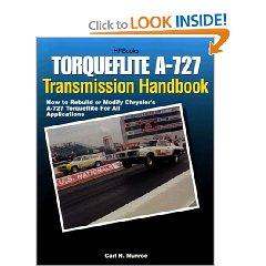Show details of Torqueflite Transmis Hp1399: How to Rebuild or Modify Chrysler's A-727 Torqueflite for All Applications (Paperback).