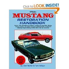 Show details of Mustang Restoration Handbook (Paperback).