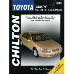 Show details of Toyota Camry (Chilton's 1997-2001 Repair Manual) (Paperback).