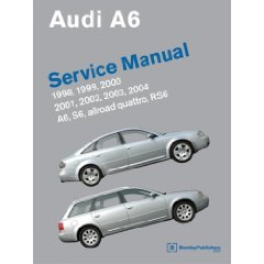Show details of Audi A6 Service Manual: 1998-2004; includes A6, allroad quattro, S6, RS6 (Paperback).