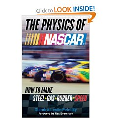 Show details of The Physics of NASCAR: How to Make Steel + Gas + Rubber = Speed [BARGAIN PRICE]  (Hardcover).