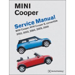 Show details of Mini Cooper Service Manual: 2002, 2003, 2004, 2005, 2006 Cooper, Cooper S, including Convertible (Paperback).