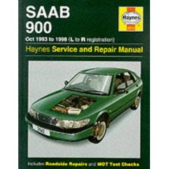 Show details of Saab 900 (October 1993-98) Service and Repair Manual (Haynes Service and Repair Manuals) (Hardcover).