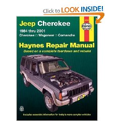 Show details of Jeep Cherokee,Wagoneer,Comanche,1984-2001 (Haynes Repair Manual) (Paperback).