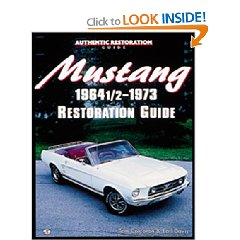 Show details of Mustang 1964 1/2 - 73 Restoration Guide (Motorbooks Workshop) (Paperback).