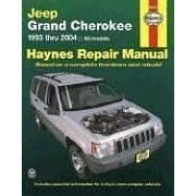 Show details of JEEP GRAND CHEROKEE 1993-2004 (Haynes Repair Manual) (Paperback).