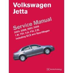 Show details of Volkswagen Jetta Service Manual 2005-2008: A5 Platform (Paperback).