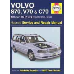 Show details of Volvo S70, C70 and V70 Service and Repair Manual (Haynes Service and Repair Manuals) (Hardcover).