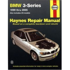 Show details of BMW 3-SERIES & Z4 MODELS, 1999 THRU 2005 (Hayne's Automotive Repair Manual) (Paperback).