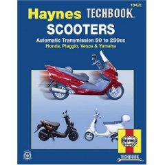 Show details of Scooters,Automatic Transmission 50 to 250cc (Hayne's Automotive Repair Manual) (Paperback).