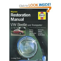 Show details of VW Beetle & Transporter: Restoration  Manual (Hardcover).