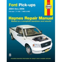 Show details of Ford Full Size F-150 Pick-Ups, 2004 Thru 2006 (Haynes Repair Manual) (Paperback).