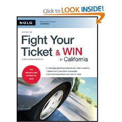 Show details of Fight Your Ticket & Win in California (Paperback).