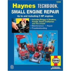 Show details of Small Engine Repair Manual, up to 5 hp (Haynes Manuals) (Paperback).