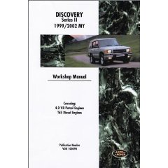 Show details of Land Rover Discovery Workshop Manual: 1999-2002 (Paperback).
