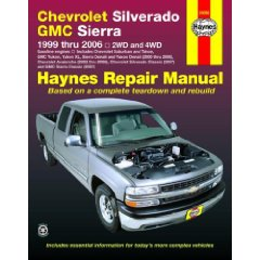 Show details of Chevrolet Silverado GMC Sierra: 1999 thru 2006 2WD and 4WD (Haynes Repair Manual) (Paperback).