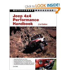 Show details of Jeep 4x4 Performance Handbook (Motorbooks Workshop) (Paperback).