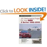 Show details of 101 Performance Projects for Your BMW 3 Series 1982-2000 (Motorbooks Workshop) (Paperback).