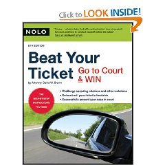 Show details of Beat Your Ticket: Go to Court & Win (5th edition) (Paperback).
