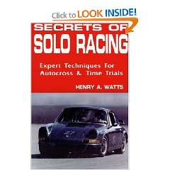 Show details of Secrets of Solo Racing: Expert Techniques for Autocrossing and Time Trials (Paperback).