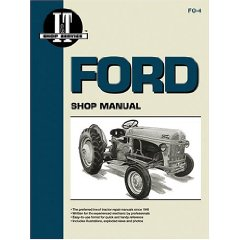 Show details of Ford Shop Manual Series 2N, 8N, 9N/Fo-4 (Paperback).