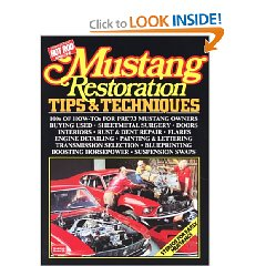 Show details of Mustang Restoration Tips and Techniques (Paperback).