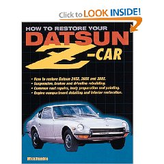 Show details of How to Restore Your Datsun Z-Car (Paperback).