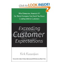 Show details of Exceeding Customer Expectations: What Enterprise, America's #1 car rental company, can teach you about creating lifetime customers (Hardcover).