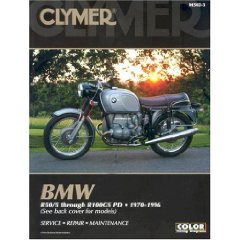 Show details of Bmw R50/5 Through R100Gs Pd: 1970-1996 (Clymer Motorcycle Repair) (Paperback).