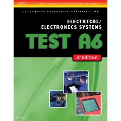 Show details of ASE Test Preparation- A6 Electrical/Electronics Systems (Delmar Learning's Ase Test Prep Series) (Paperback).