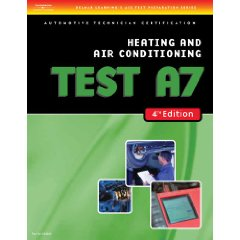 Show details of ASE Test Preparation- A7 Heating and Air Conditioning (Delmar Learning's Ase Test Prep Series) (Paperback).