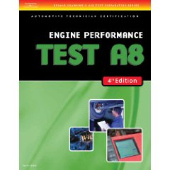 Show details of ASE Test Preparation- A8 Engine Performance (Delmar Learning's Ase Test Prep Series) (Paperback).