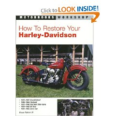 Show details of How to Restore Your Harley-Davidson Motorcycle (Motorbooks Workshop) (Paperback).