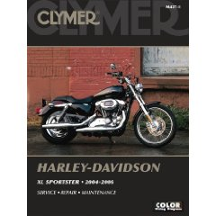 Show details of Harley Davidson XL Sportster 2004-2006 (Clymer Motorcycle Repair) (Paperback).