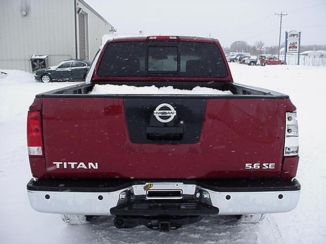 2005 Nissan Titan Ext Cab 5 6 SE 4x4 Off Road Rockville MN 56369 Photo #0002190A