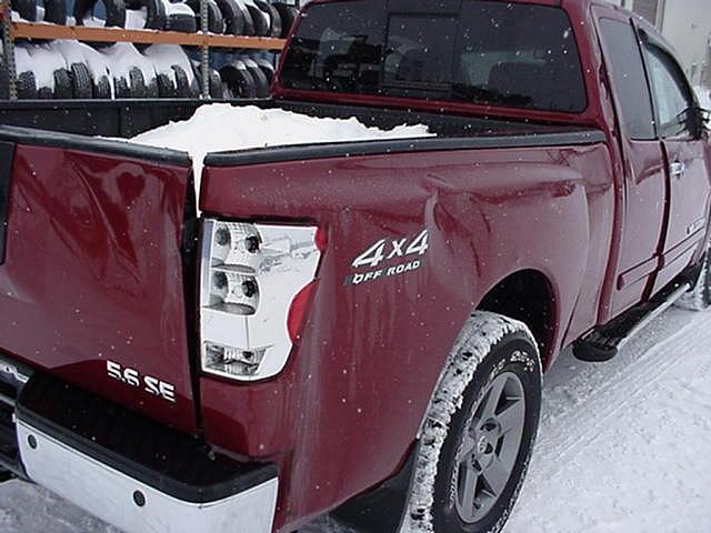 2005 Nissan Titan Ext Cab 5 6 SE 4x4 Off Road Rockville MN 56369 Photo #0002190A
