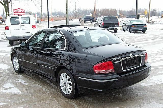 2002 Hyundai Sonata Romeo MI 48065 Photo #0002226A
