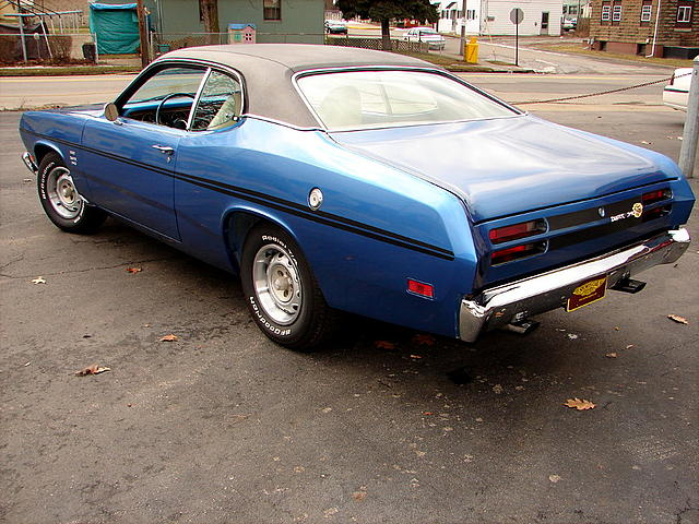 1970 Plymouth Duster 340 Price 21 000 00 Beaver Falls Pa B5 Blue White Interior